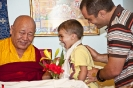 The visit of Lama Yeshe Rinpoche March 2012